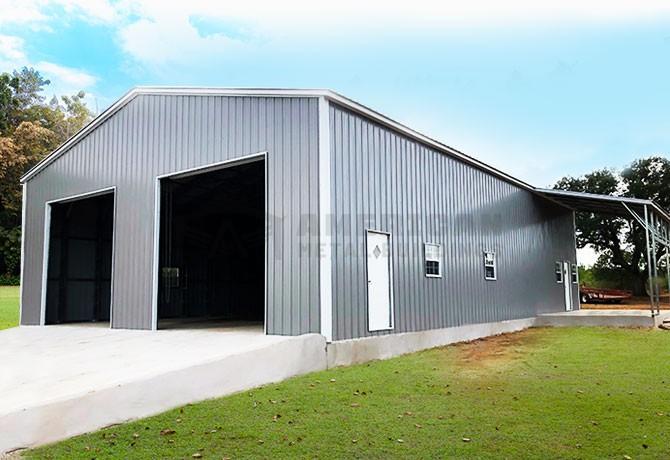 32'-40' Wide Metal Buildings