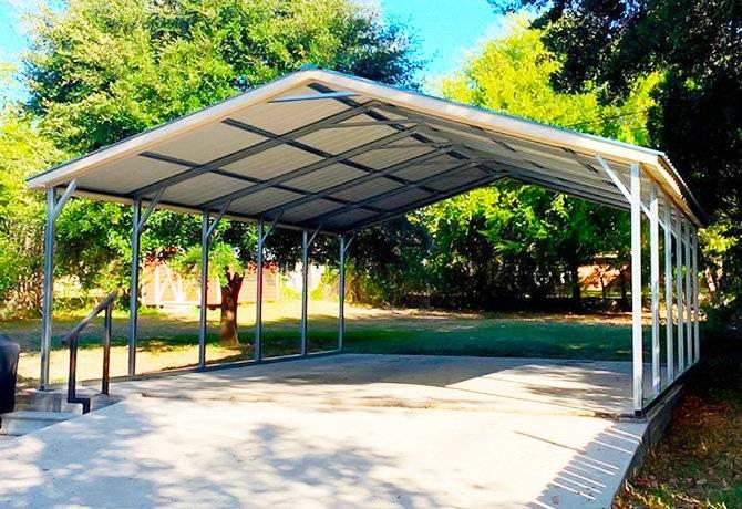 12' to 24' Wide Carports