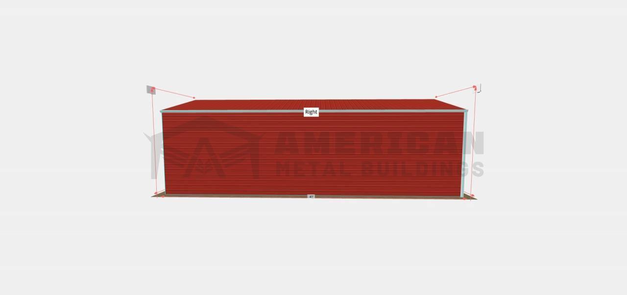 20x40 Steel Carport