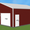 24x30 Steel Garage Building