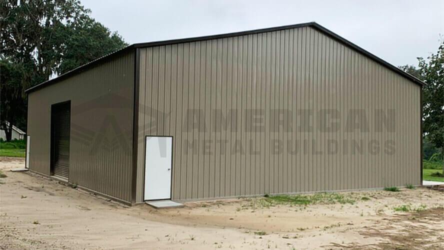 36x50 Commercial Metal Building