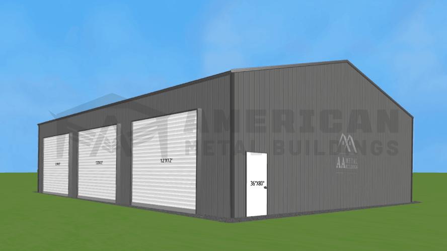 40x50 Commercial Metal Building