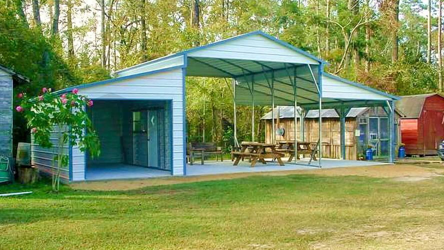 42x20 Raised Center Barn
