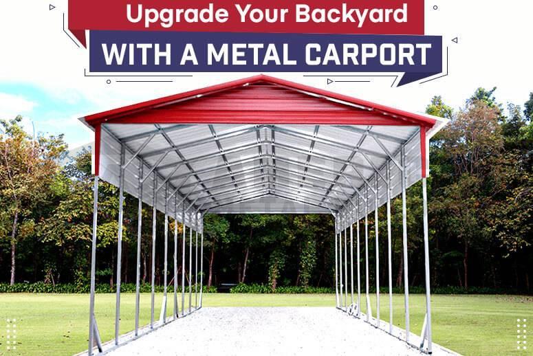 Upgrade Your Backyard with a Metal Carport