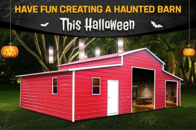 Have Fun Creating a Haunted Barn This Halloween